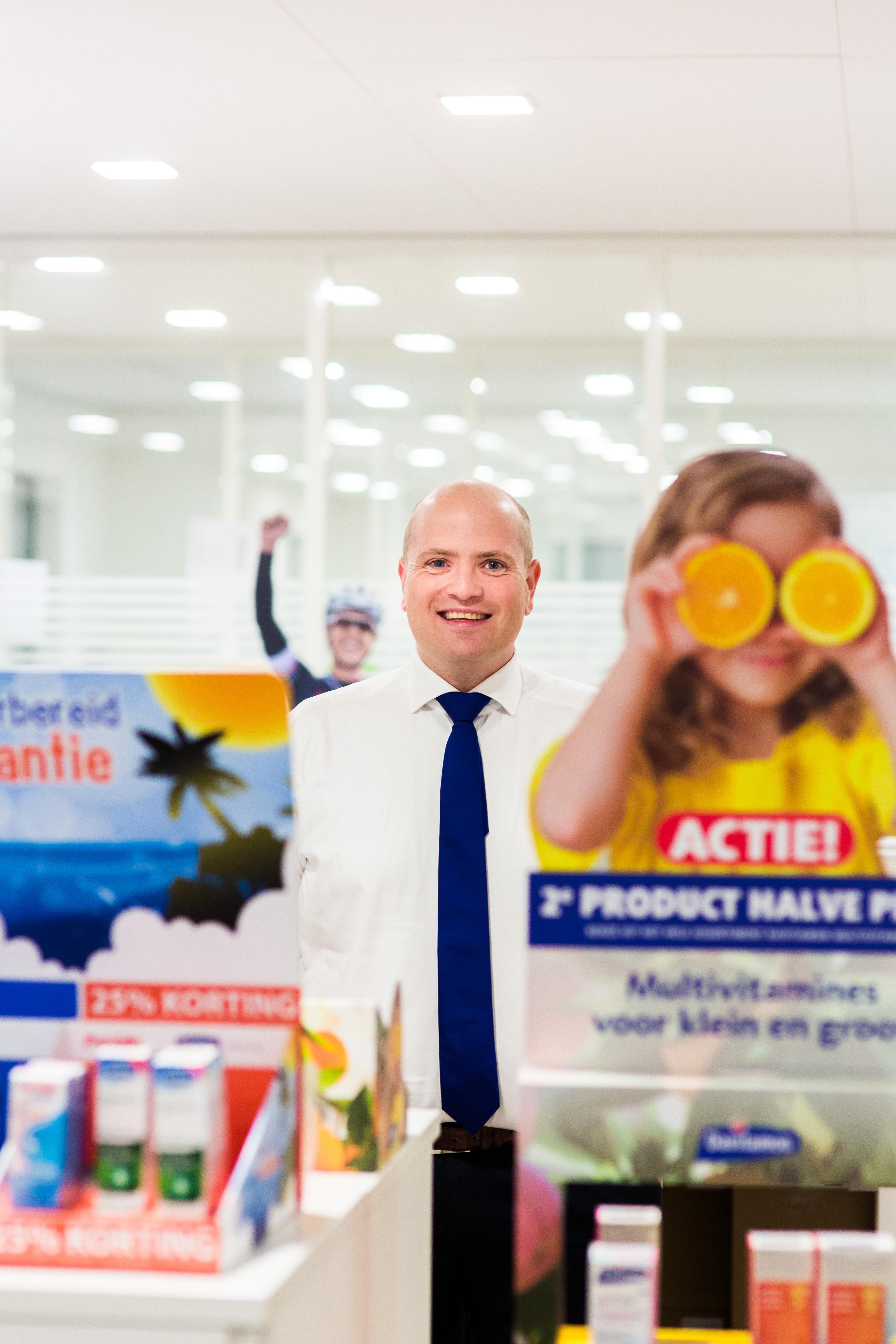 Joost Hunfeld GM bij Omega Pharma