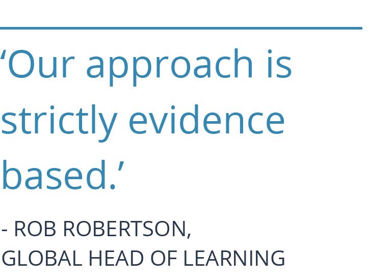 Rob Robertson Gobal Head of Learning ING