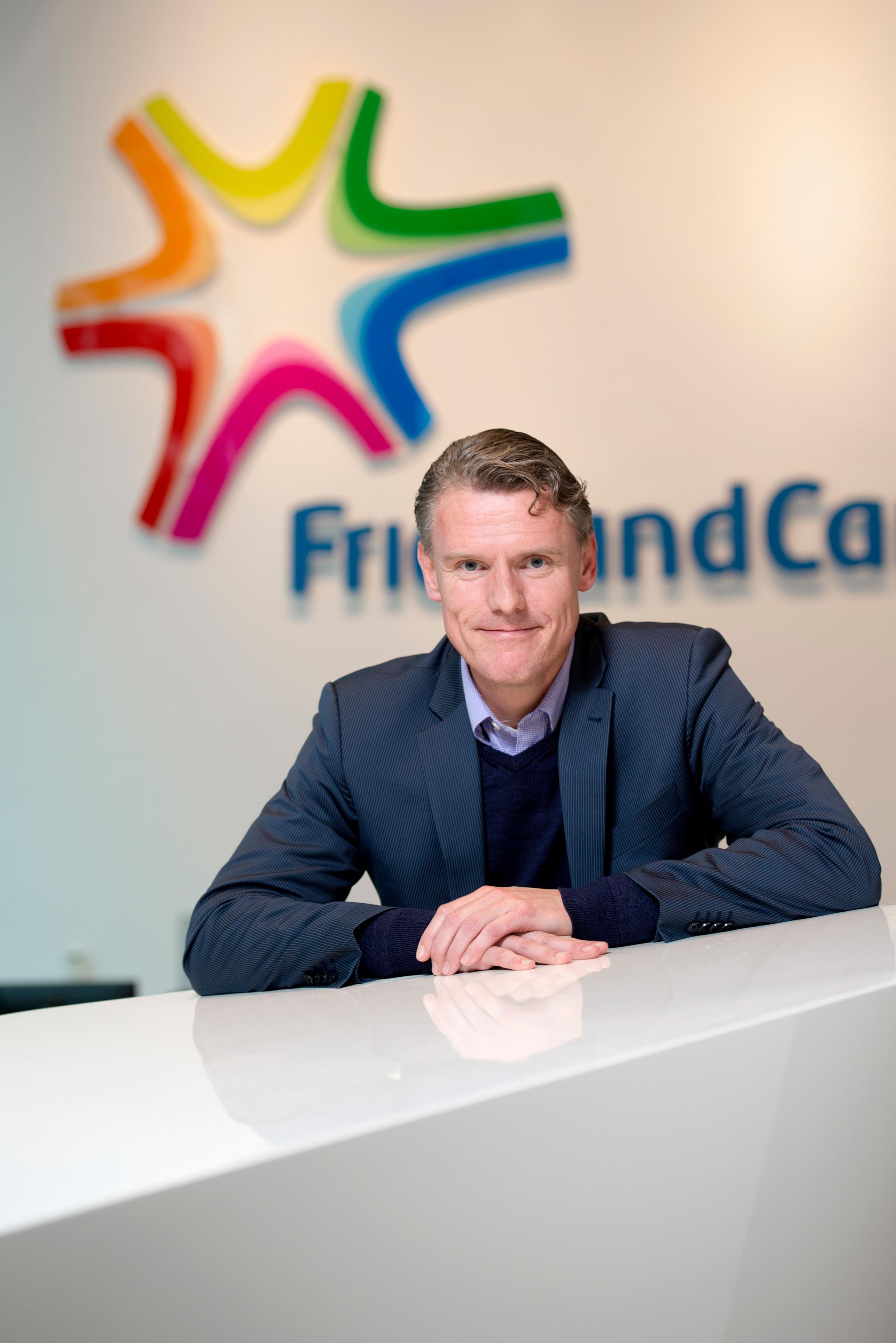 Berndt Kodden Managing Director bij FrieslandCampina
