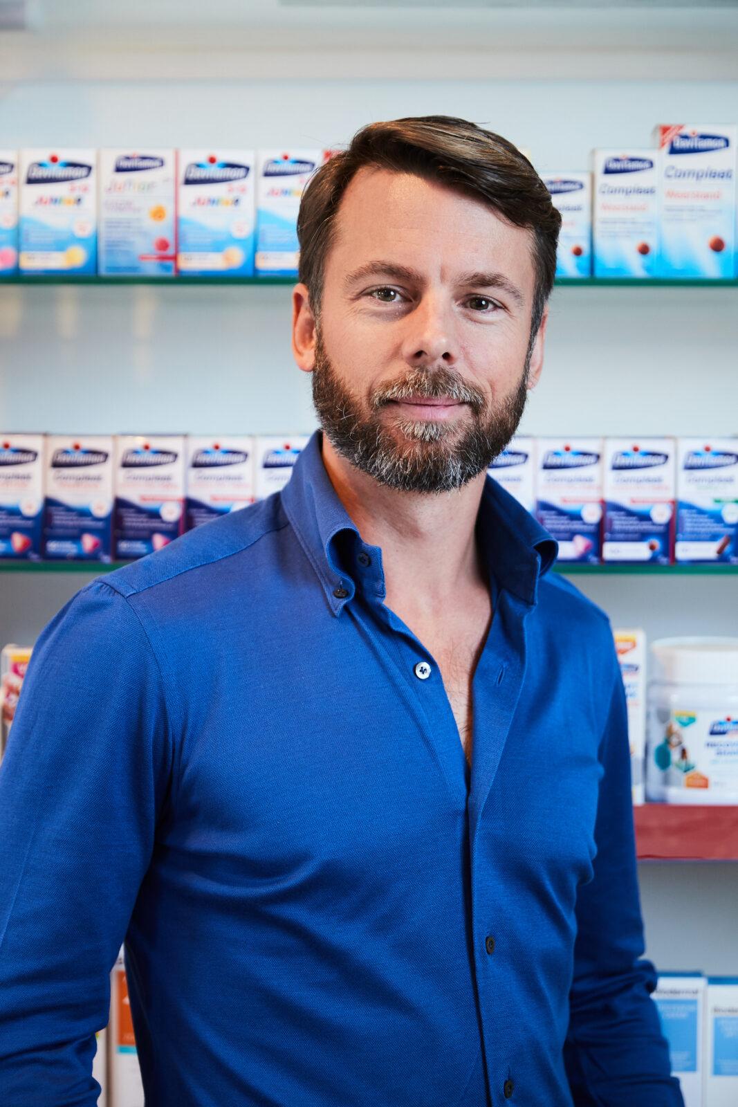 Geert Heestermans Omega Pharma