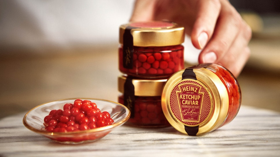 Ketchup Caviar Kraft Heinz