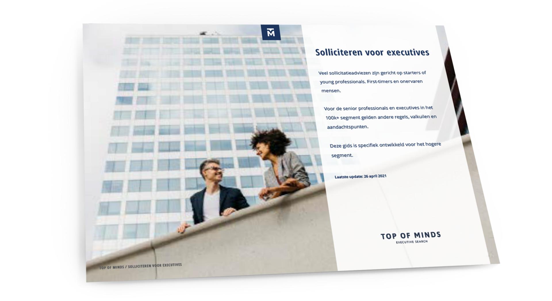 Sollicitatie tips executives